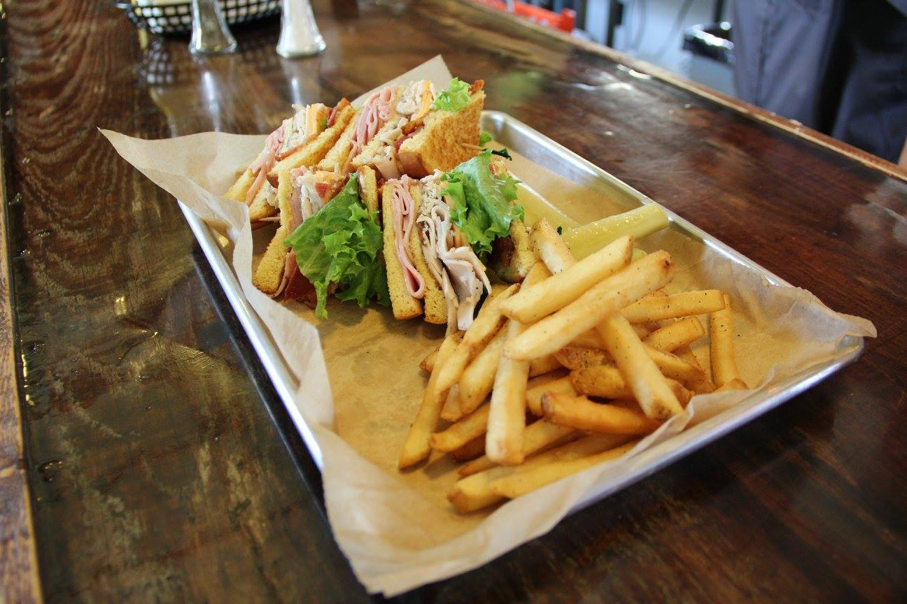 Fries Cooked Hot and Perfectly Crispy Accompany Meals Like This Club Sandwich